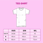 T-Shirt La Dolce Vita Jaune
