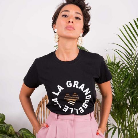 T-Shirt La Grande Bellezza Noir