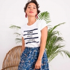 T-Shirt Salento Blanc by LesFutiles