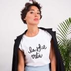 T-Shirt La Dolce Vita Blanc