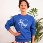 Royal Blu Sweatshirt Gin Tonic