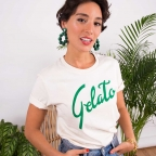 T-Shirt Gelato Crème
