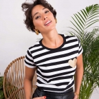 T-Shirt Coco Coeur Gold by LesFutiles