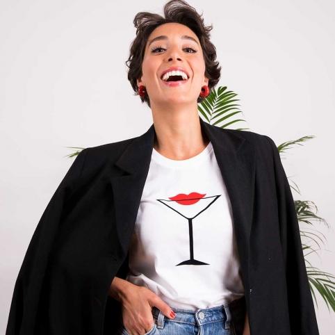 T-Shirt Samantha Blanc