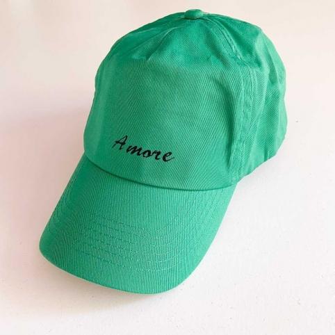 Casquette Amore Vert