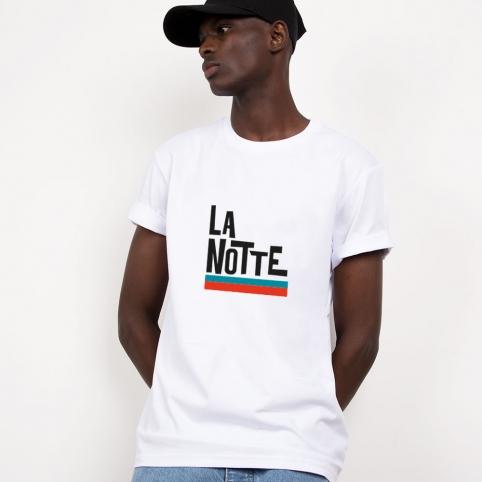 White T-Shirt La Notte
