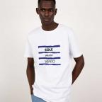 T-Shirt Salento Blanc Homme