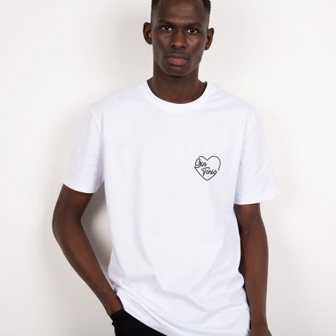 T-Shirt Gin Tonic Blanc Homme