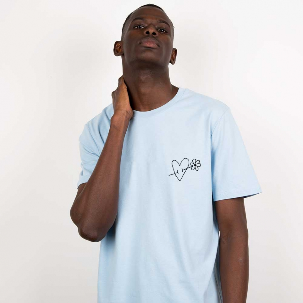 T-Shirt Cupido Bleu Ciel Homme