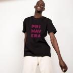 T-Shirt Primavera Noir Homme