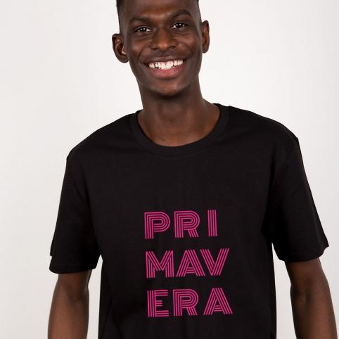 Black T-Shirt Primavera