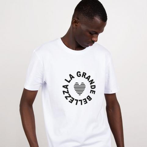 White T-Shirt La Grande Bellezza