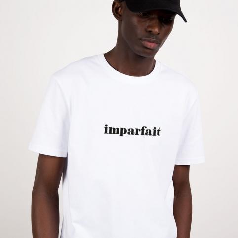 T-Shirt Imparfait Blanc Homme