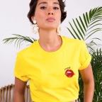 T-Shirt Piccante Jaune