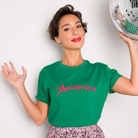 T-Shirt Vert Macarena