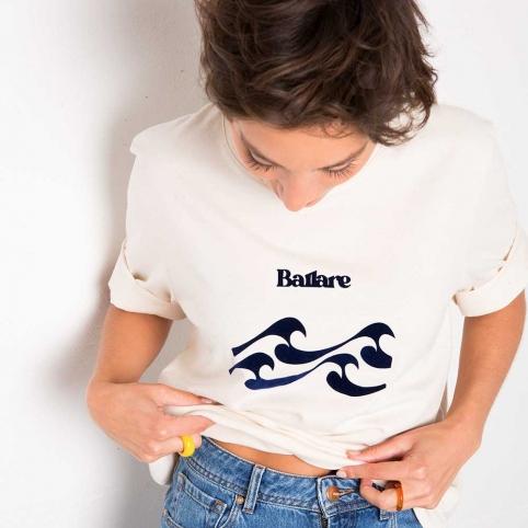 Cream T-Shirt Ballare