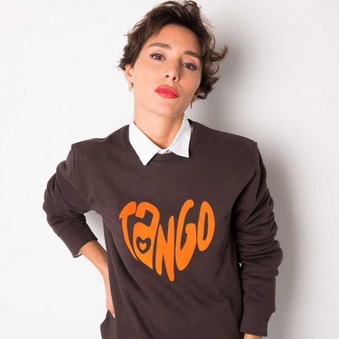 Orange Sweatshirt Tango