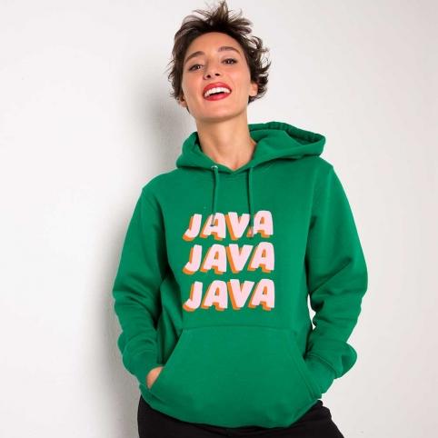 Green Sweatshirt Java