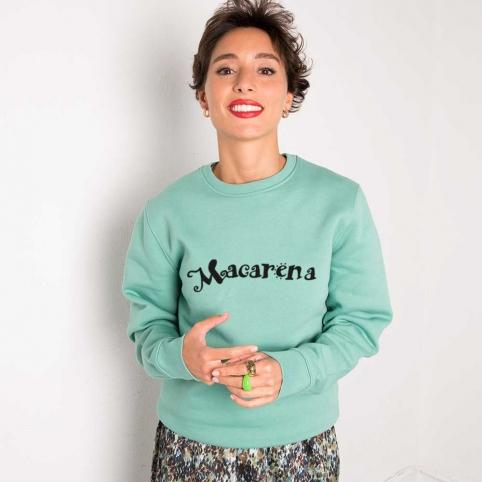 Mint Green Sweatshirt Macarena