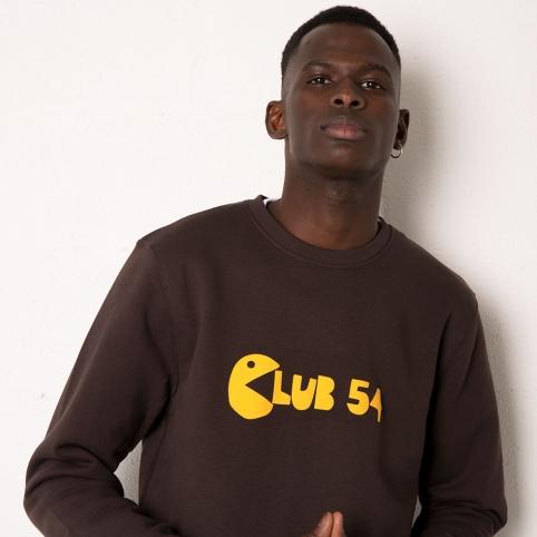 Brown Sweatshirt Club 54