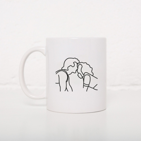 Mugs Kiss DD