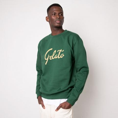 Green Sweatshirt Gelato